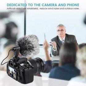 TaffStudio Camera DSLR Shotgun Microphone 3.5mm - MIC-06 - Black - 4