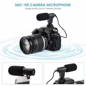 TaffStudio Camera DSLR Shotgun Microphone 3.5mm - MIC-06 - Black - 8