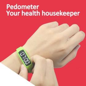 SKMEI Jam Tangan LED Sport Bracelet Pedometer - CD5-L - Black - 3