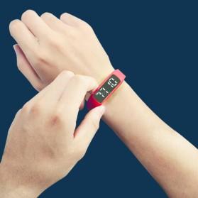 SKMEI Jam Tangan LED Sport Bracelet Pedometer - CD5-L - Black - 4