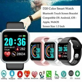 Smartwatch Sport Fitness Bracelet Activity Tracker Android iOS - Y68 - Black - 3