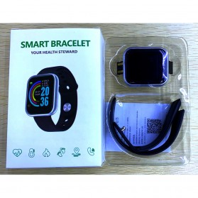 Smartwatch Sport Fitness Bracelet Activity Tracker Android iOS - Y68 - Black - 8