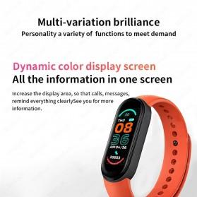 UOJSJK Smartwatch Sport Fitness Bracelet Activity Tracker Android iOS - M6 - Black - 9