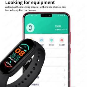 UOJSJK Smartwatch Sport Fitness Bracelet Activity Tracker Android iOS - M6 - Black - 8