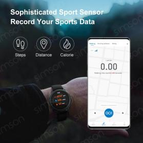 Haylou Solar Jam Tangan Digital Smartwatch Heartrate IP68 Waterproof - LS05 - Black - 2