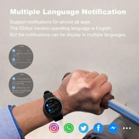 Haylou Solar Jam Tangan Digital Smartwatch Heartrate IP68 Waterproof - LS05 - Black - 3