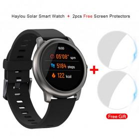 Haylou Solar Jam Tangan Digital Smartwatch Heartrate IP68 Waterproof - LS05 - Black - 6