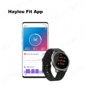 Haylou Solar Jam Tangan Digital Smartwatch Heartrate IP68 Waterproof - LS05 - Black - 8