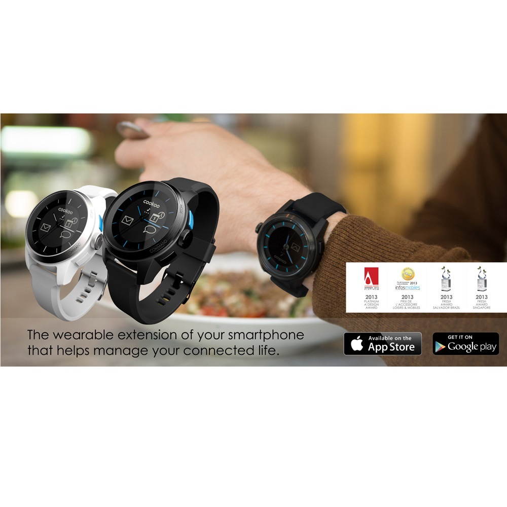 COOKOO Watch For IPhone 5 4s IPad IPod Galaxy S4