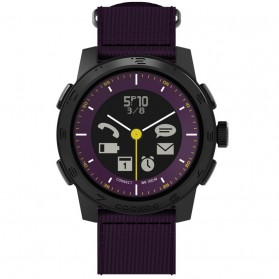 COOKOO 2 SmartWatch Urban Explorer for iPhone 5/4s, iPad, iPod, Galaxy S4 - Eggplant - 1