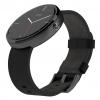 Moto 360 Leather Band Smartwatch - Black