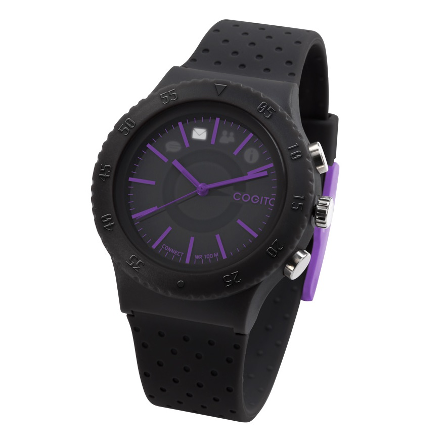 Cogito Pop Fashion Connected Watch Black Panther