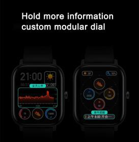Xiaomi Amazfit GTS Sport Smartwatch Bluetooth 5.0 - A1914 - Black - 6