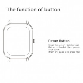 Xiaomi Amazfit GTS Sport Smartwatch Bluetooth 5.0 - A1914 - Black - 10