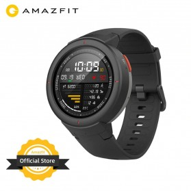 Xiaomi Amazfit Verge Sport Smartwatch GPS Heart Rate Bluetooth 4.2 - Black