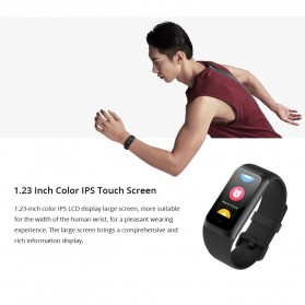Xiaomi Huami Amazfit Band Cor 2 Sport Smartwatch Heart Rate Monitor Waterproof - Black - 4