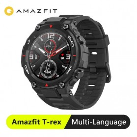 Xiaomi Amazfit T-REX Sport Smartwatch GPS Heart Rate Bluetooth 5.0 - A1919 - Black