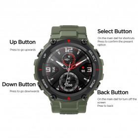 Xiaomi Amazfit T-REX Sport Smartwatch GPS Heart Rate Bluetooth 5.0 - A1919 - Black - 3