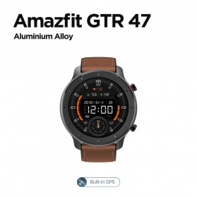 Smartwatch / Apple Watch - Xiaomi Amazfit GTR Sport Smartwatch Bluetooth 5.0 47mm - A1902 - Black