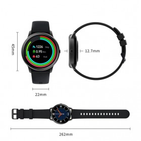 Xiaomi IMILab KW66 Smartwatch Fitness Tracker Heart Rate Bluetooth 5.0 - Black - 4