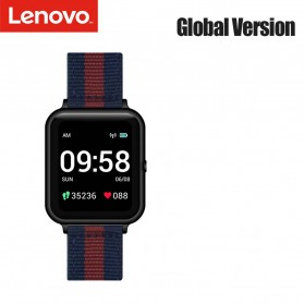 Lenovo S2 Smartwatch Sport Tracker Heart Rate Monitor Android iOS - Black