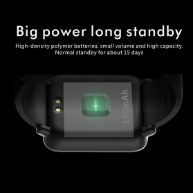 Lenovo S2 Smartwatch Sport Tracker Heart Rate Monitor Android iOS - Black - 4