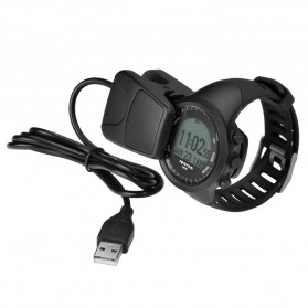 Spovan GL004 GPS Watch Tracker for Outdoor Traveling - Black White - 5