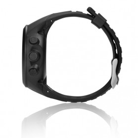 Spovan GL004 GPS Watch Tracker for Outdoor Traveling - Black White - 9