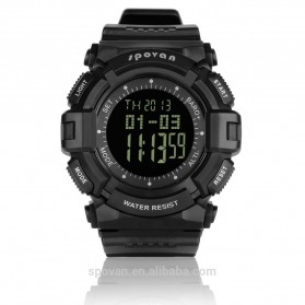 Spovan Blade IV Sport Watch for Outdoor Traveling - Black