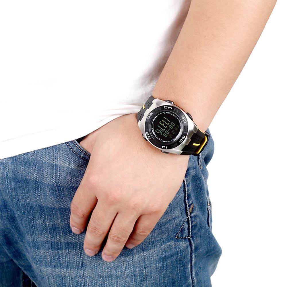 Outdoor Spovan Spv706 Fishing Barometer For Traveling Jam Bravo Ii Tangan Sport Black Blade V Waterproof Watch 7