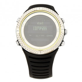 Spovan FX801 Waterproof Sport Watch for Outdoor Traveling - Silver - 2