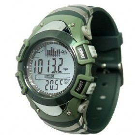 Spovan FX704 Sport Watch for Fishing Forecast Outdoor Traveling - Green - 1