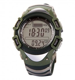 Spovan FX704 Sport Watch for Fishing Forecast Outdoor Traveling - Green - 3