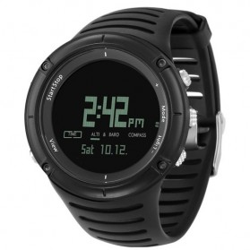Spovan SPV808 Sport Watch for Outdoor Traveling - Black