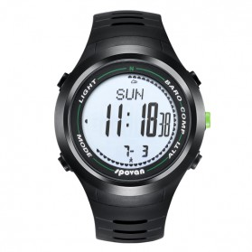 Spovan Leader II Jam Tangan Outdoor - Leader 2G - Black - 5
