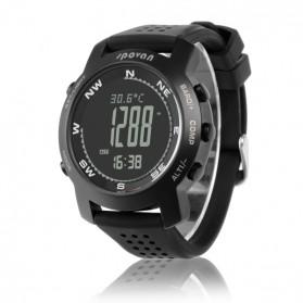 Spovan Bravo Plus Sport Watch for Outdoor Traveling - Black - 2