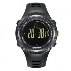 Spovan Leader II Jam Tangan Outdoor - Leader 2P - Black