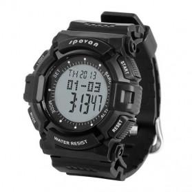 Spovan Blade IV+ Sport Watch Water Resistant 50M - Black White - 2