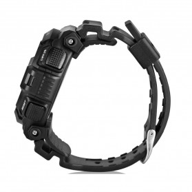 Spovan Blade IV+ Sport Watch Water Resistant 50M - Black White - 3