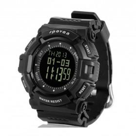 Spovan Blade IV+ Sport Watch Water Resistant 50M - Black/Black - 2