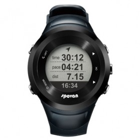 Spovan Smart GPS Watch for Outdoor Traveling - Black - 1
