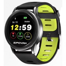 Spovan Smartwatch Fitness Tracker Android iOS - Venus - SW001 - Green