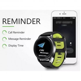 Spovan Smartwatch Fitness Tracker Android iOS - Venus - SW001 - Green - 5