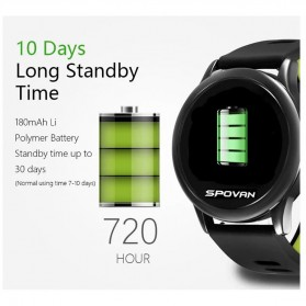 Spovan Smartwatch Fitness Tracker Android iOS - Venus - SW001 - Green - 6