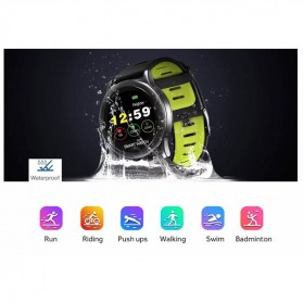 Spovan Smartwatch Fitness Tracker Android iOS - Venus - SW001 - Green - 8
