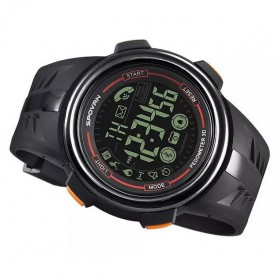 Spovan PR3 Fitness Sport Smartwatch Waterproof - Orange - 4
