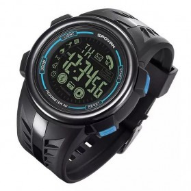 Spovan PR3 Fitness Sport Smartwatch Waterproof - Blue - 3