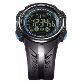 Spovan PR3 Fitness Sport Smartwatch Waterproof - Blue - 5