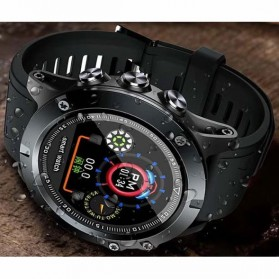 Spovan Mars Fitness Sport Smartwatch with Heartrate Sensor - Black - 3