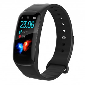 Spovan H01 Smartwatch Bracelet Fitness Tracker Heartrate Monitor - Black